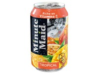 Jus Minute Maid tropical canette 33 cl - Carton de 24