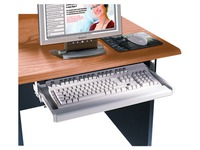 Keyboard shelf - Mogano