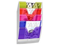 Trieur mural 5 cases Cep multicolore
