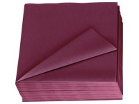 Napkins in smooth cotton wool Lotus