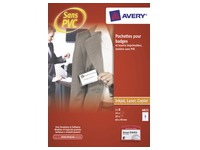 Badge Avery sans attache 60 x 90 mm - Boîte de 20