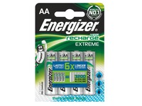 Accu rechargeable AA - HR6 Energizer Extreme - Blister de 4 accus