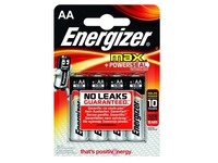 Blister 4 piles LR06 Energizer Max