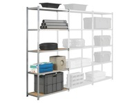 Extension element office rack Industrieco depth 40cm