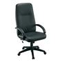 Armchair Manager President black leather